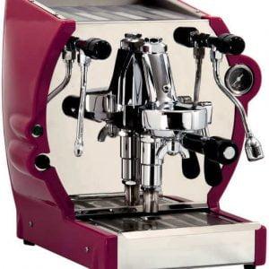 La Nuova Era Cuadra espressomachine red